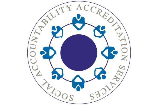 Social Accountability Accreditation Services logo © SAAS
