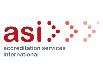 Accreditation Services International logo © ASI