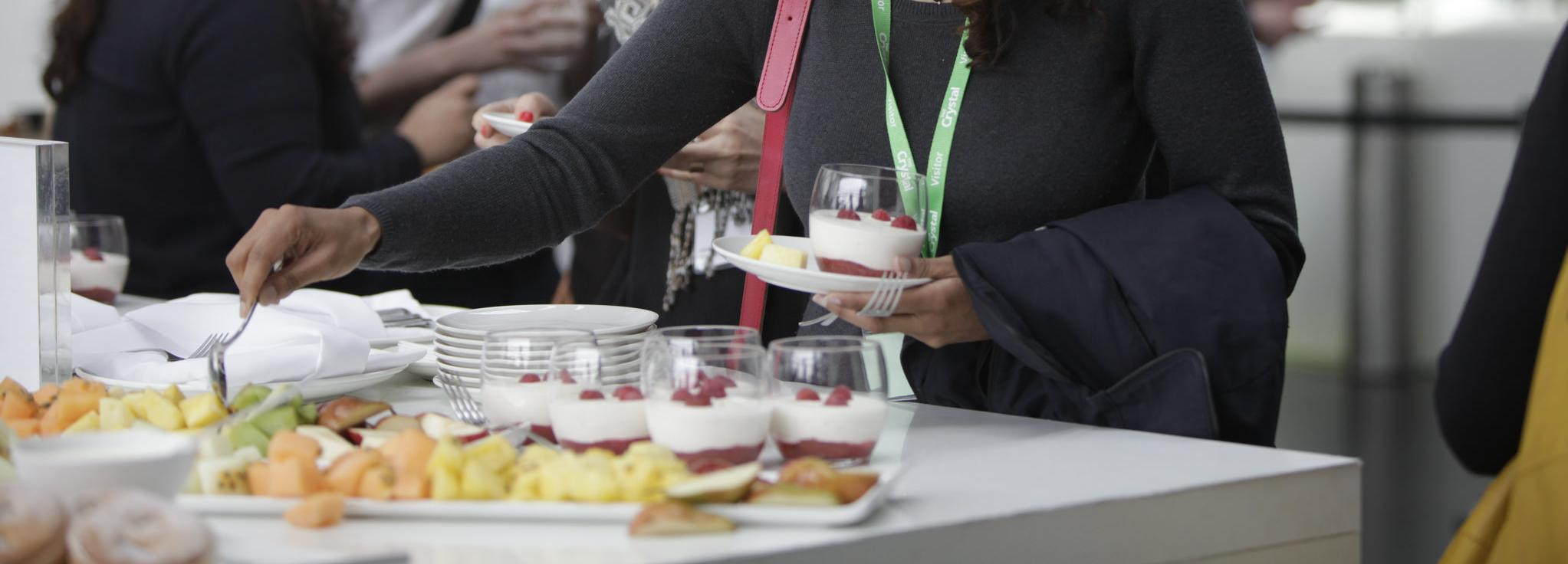 Catering at the Global Sustainability Standards Conference