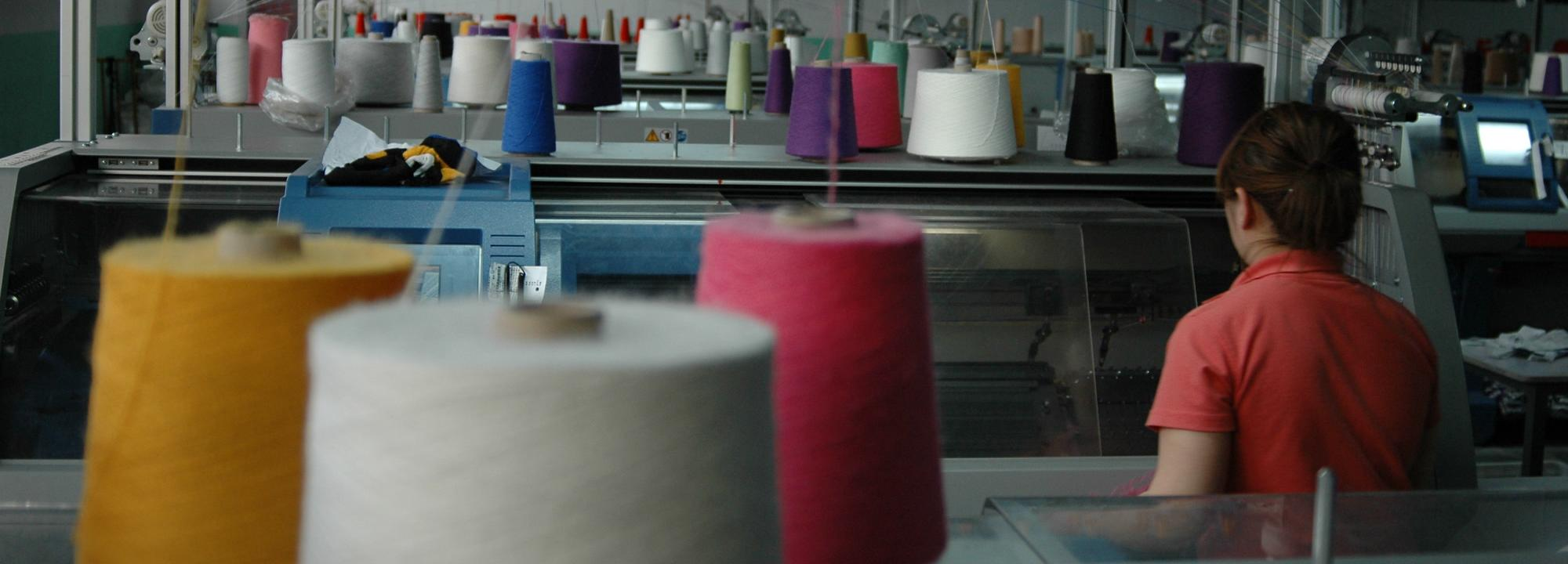 A textile factory © Better Cotton Initiative