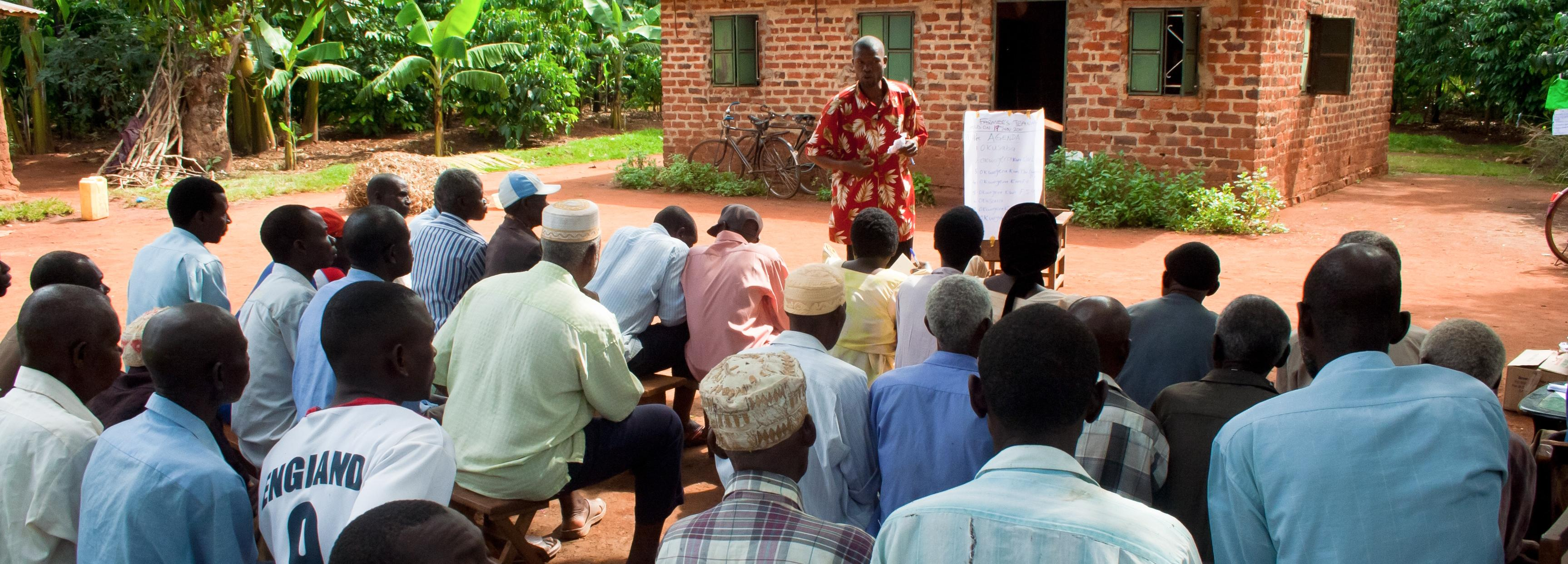 Coffee farmer field school in Uganda © UTZ Certified