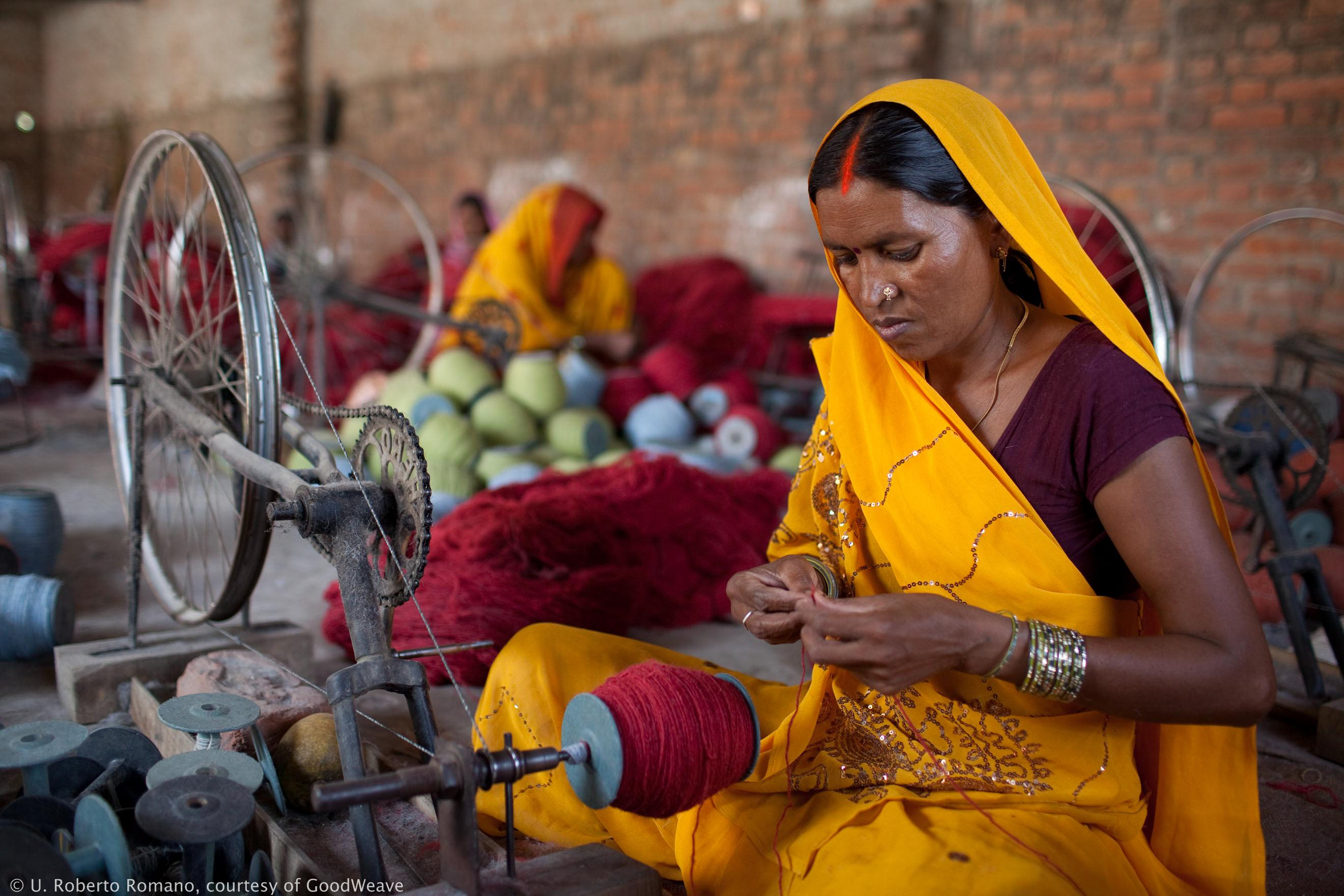 Textile worker © Goodweave