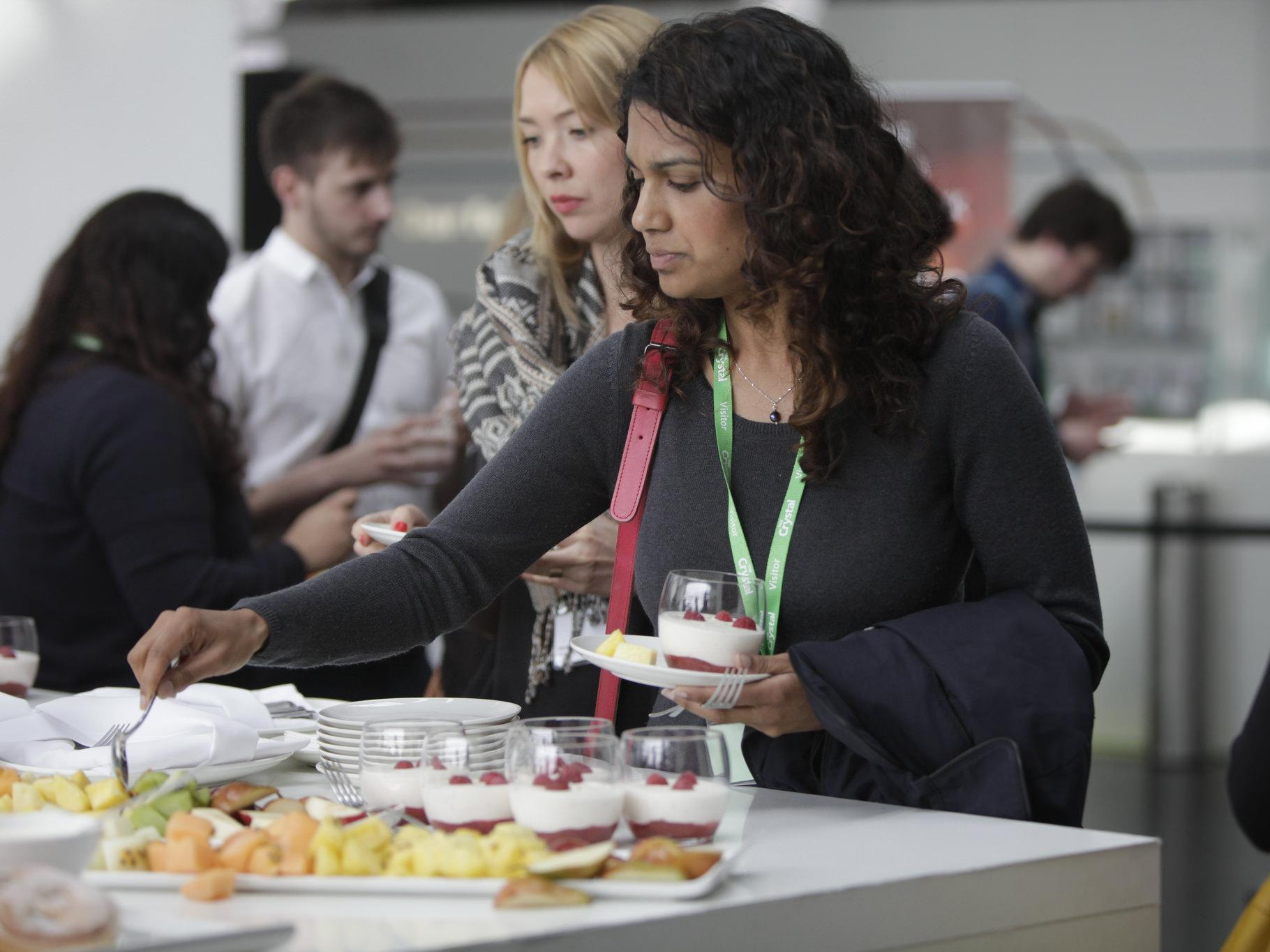 Catering at Global Sustainability Standards Conference