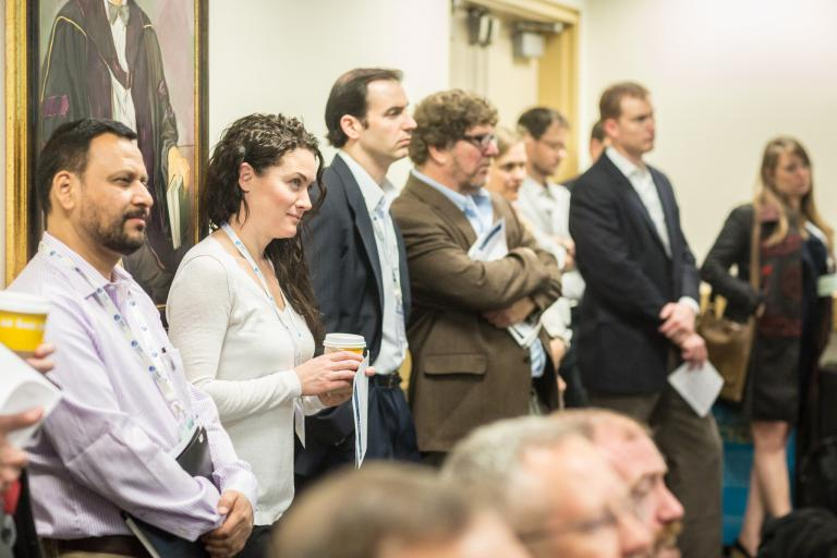 Participants listen to speakers at the Global Sustainability Standards Conference © ISEAL Alliance